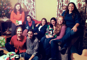 PC girls Christmas party