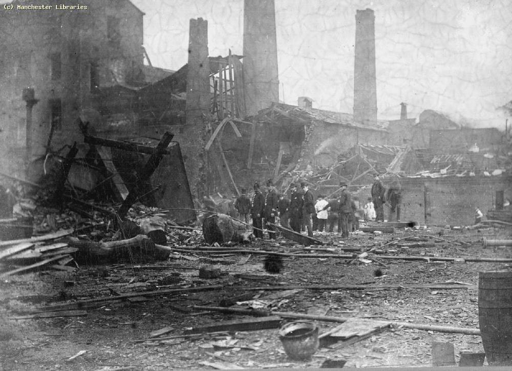 Explosion at Pomona