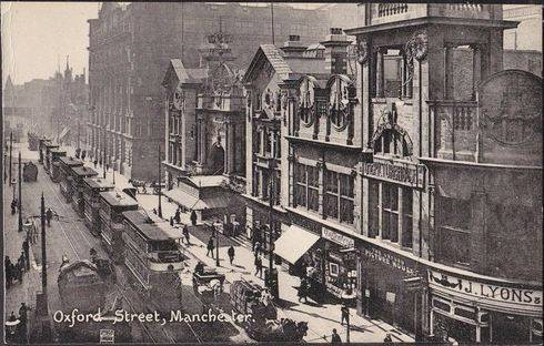 Manchester Hippodrome and neighbouring Picturehouse (now McDonalds)