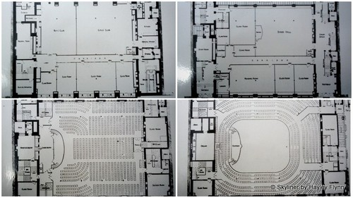 Floor plan of all four floors