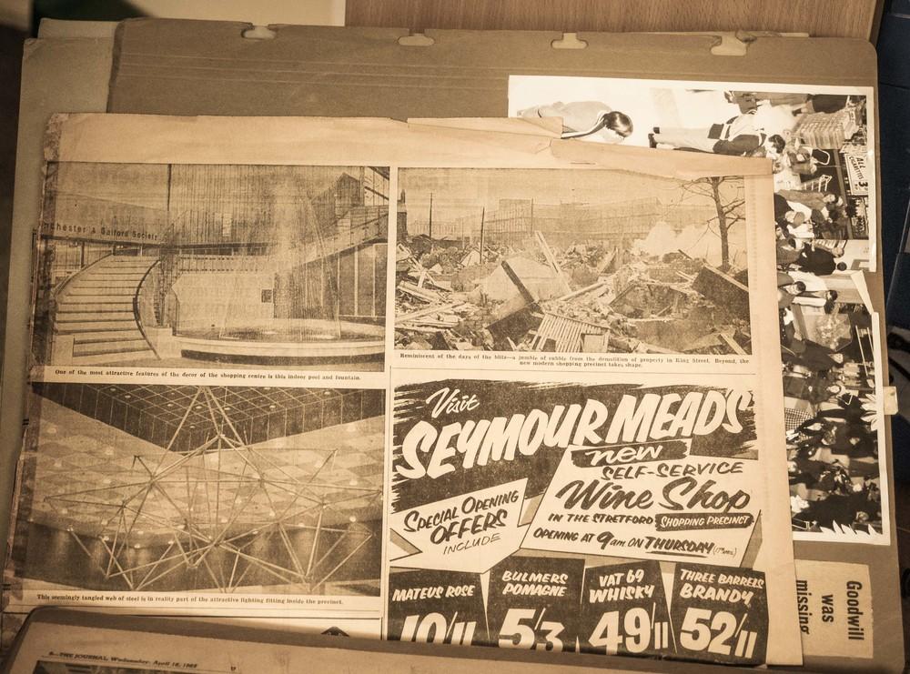 Skyliner Blog - Newspaper cuttings - birth of the Stretford Precinct.jpg