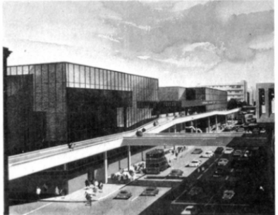 Wilson & Wormersley's Oxford Road plans, 1960s