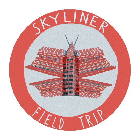 Skyliner's Field Trip Logo by Will Berry