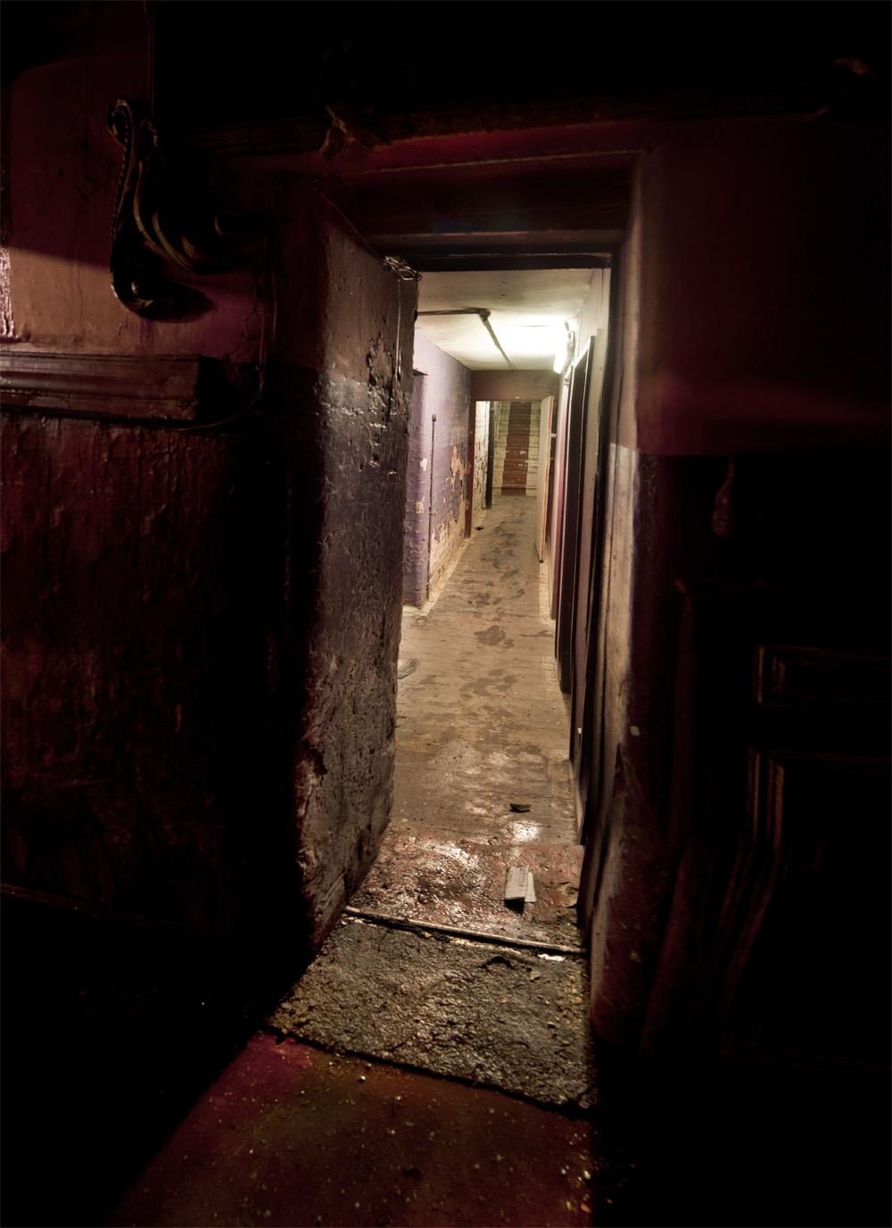 hulme hippodrome corridor