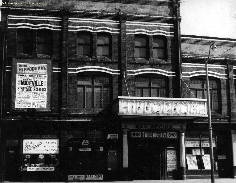 Hulme Hippodrome, 1960   Manchester Libraries