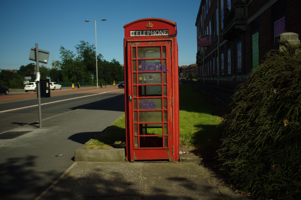 salford phone box