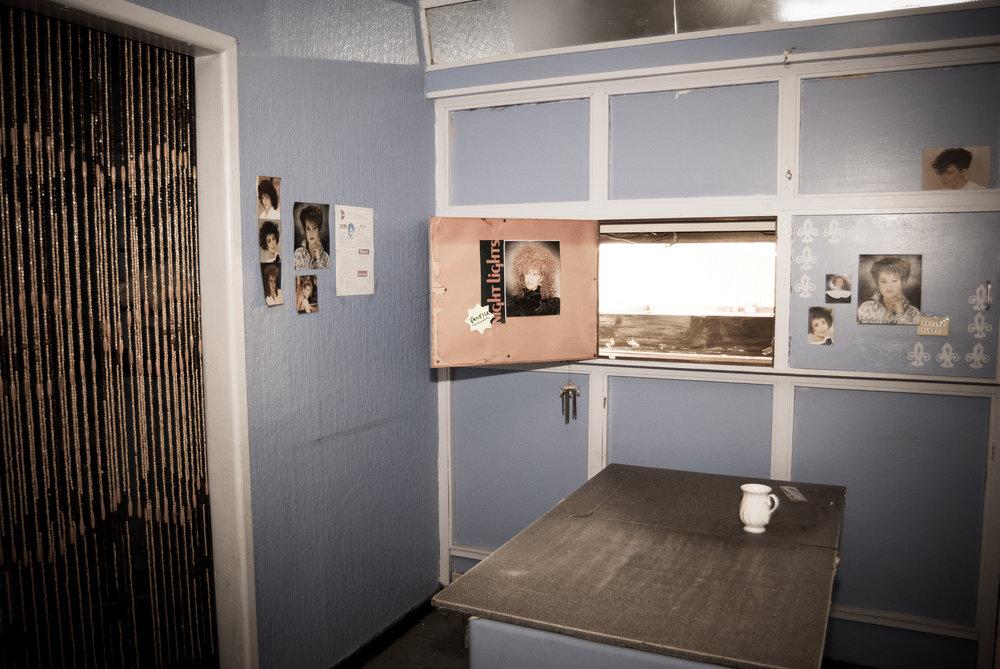 Skyliner - Stretford Mall Market Mezzanine Hairdresser Interior -  hatch.jpg