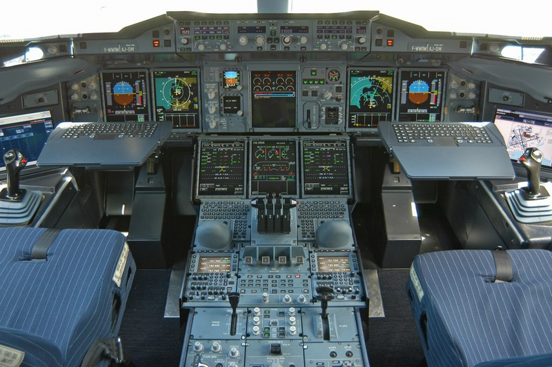 Airliner Flight Deck
