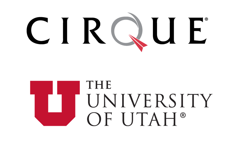Cirque and U of U Logo.png