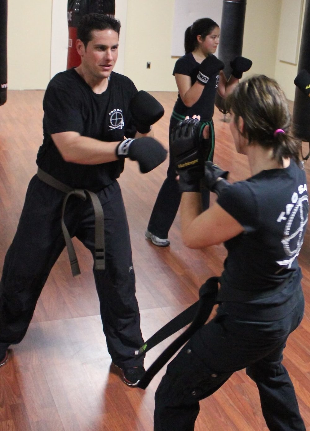 Martial Arts and Self-Defense for men, women, teens and children.