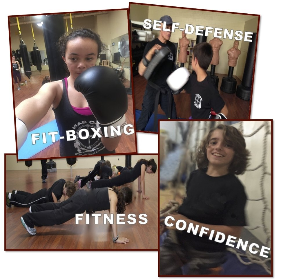 Tao San Teen Fitness, Kickboxing & Self-Defense Boot Camps