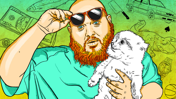 Action Bronson for Grantland