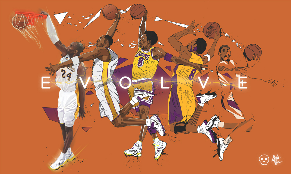 The Evolution of Kobe Bryant