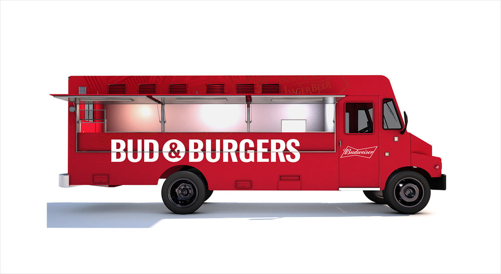 Final Bud & Burgers truck design