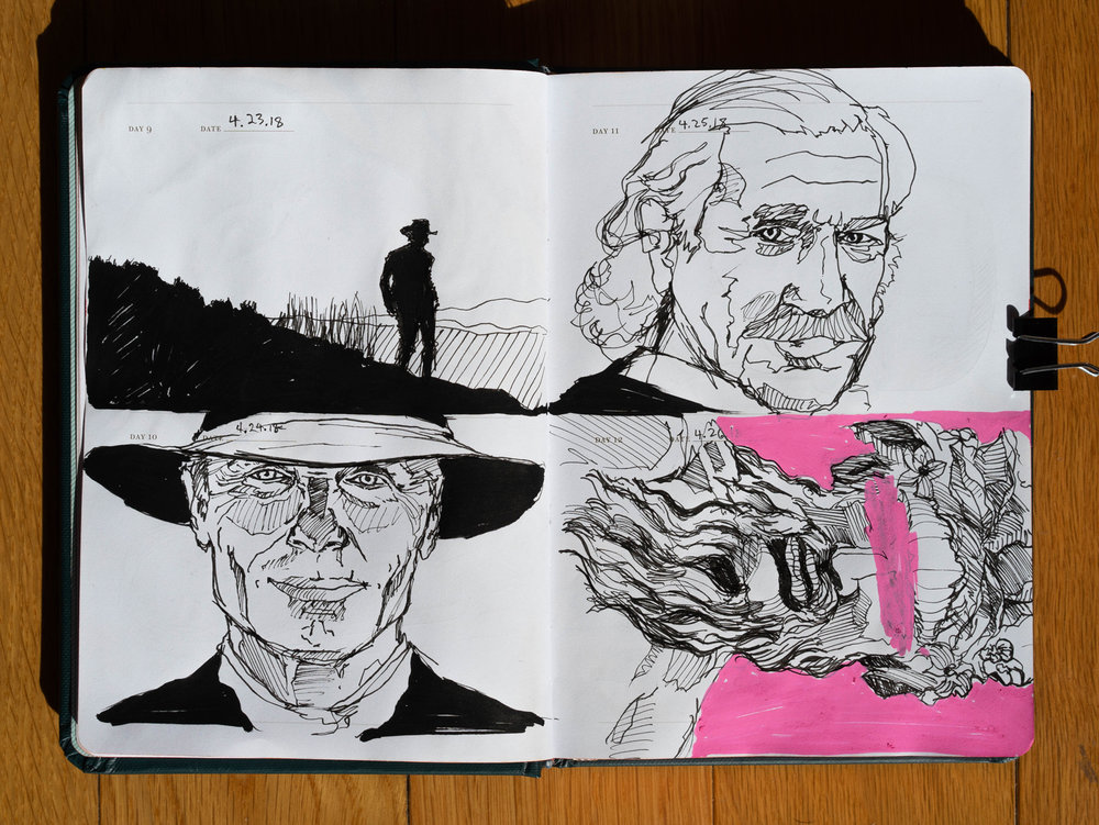 Daily Pages: Westworld