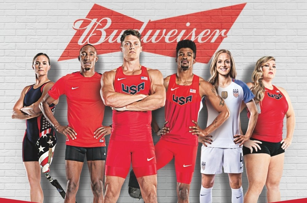 Budweiser Gold Van McAuliffe Olympics