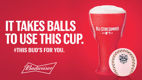 Budweiser Home Run Cup