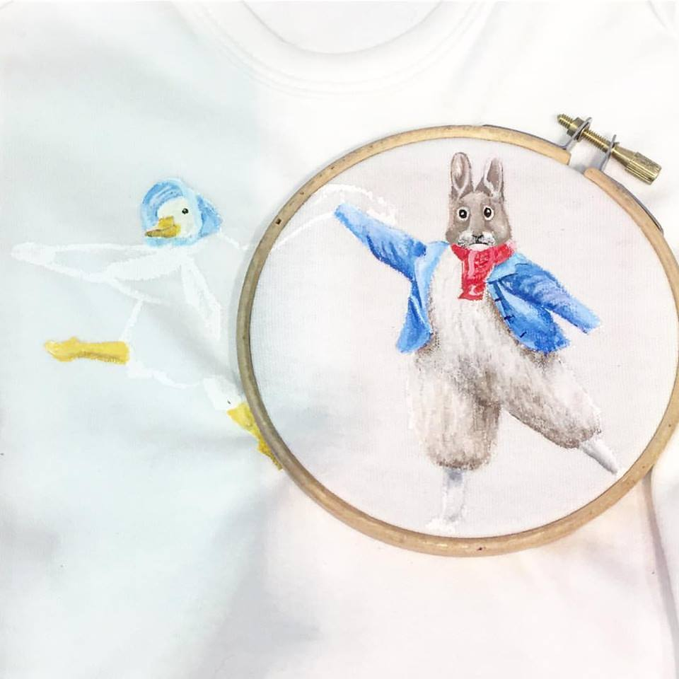 peter rabbit baby grow