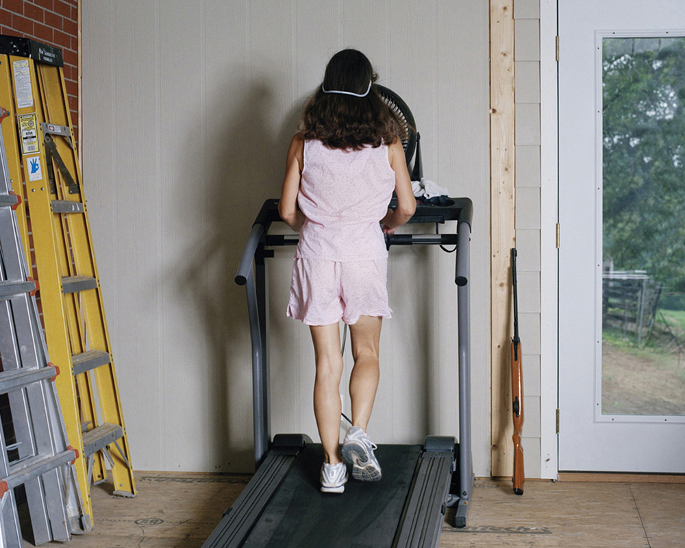 Mom on the Treadmill