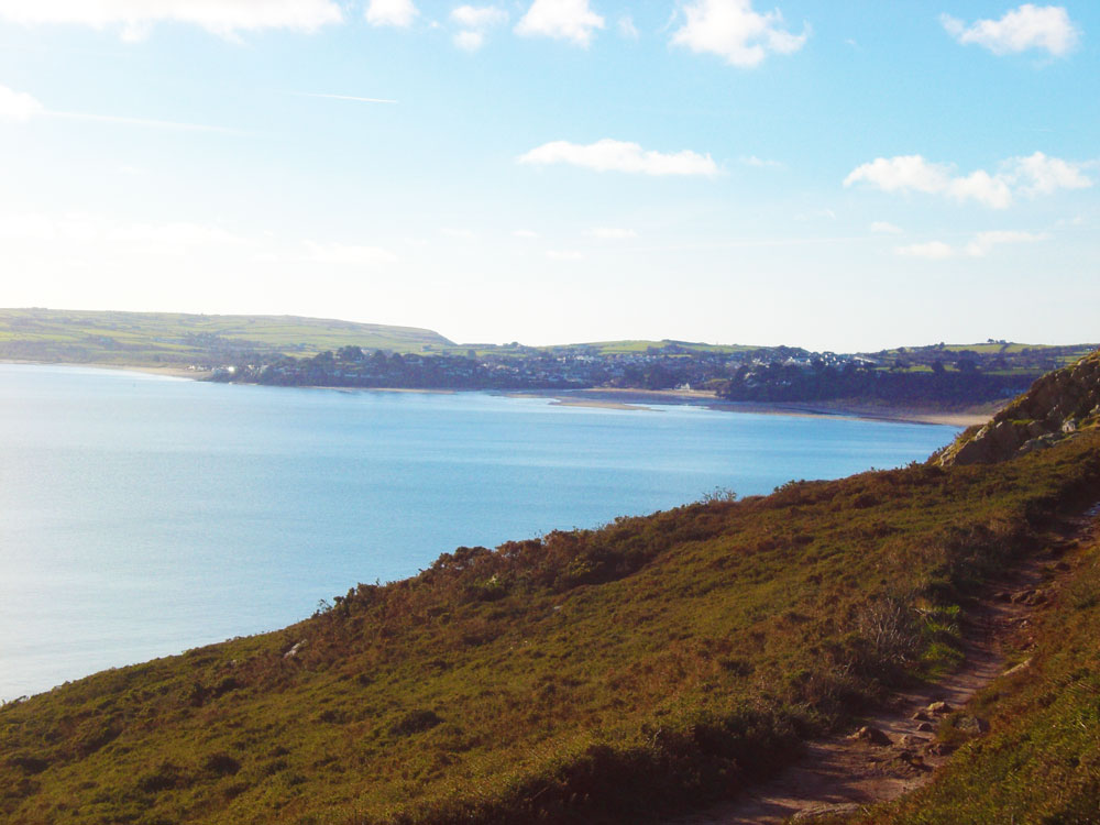 Coast Path approaching Abersoch