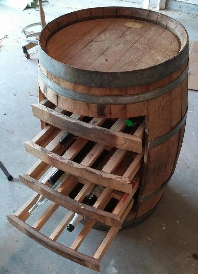 Custom Wine Holder