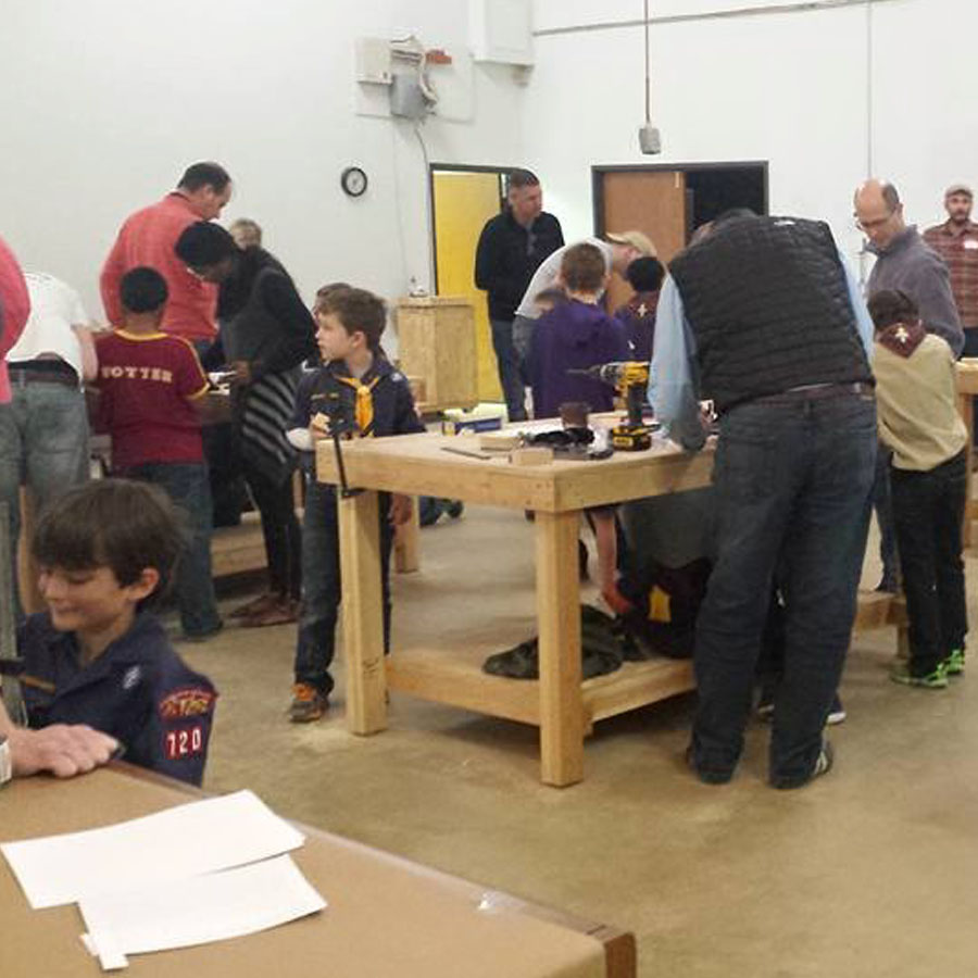 Kids Woodworking Camp