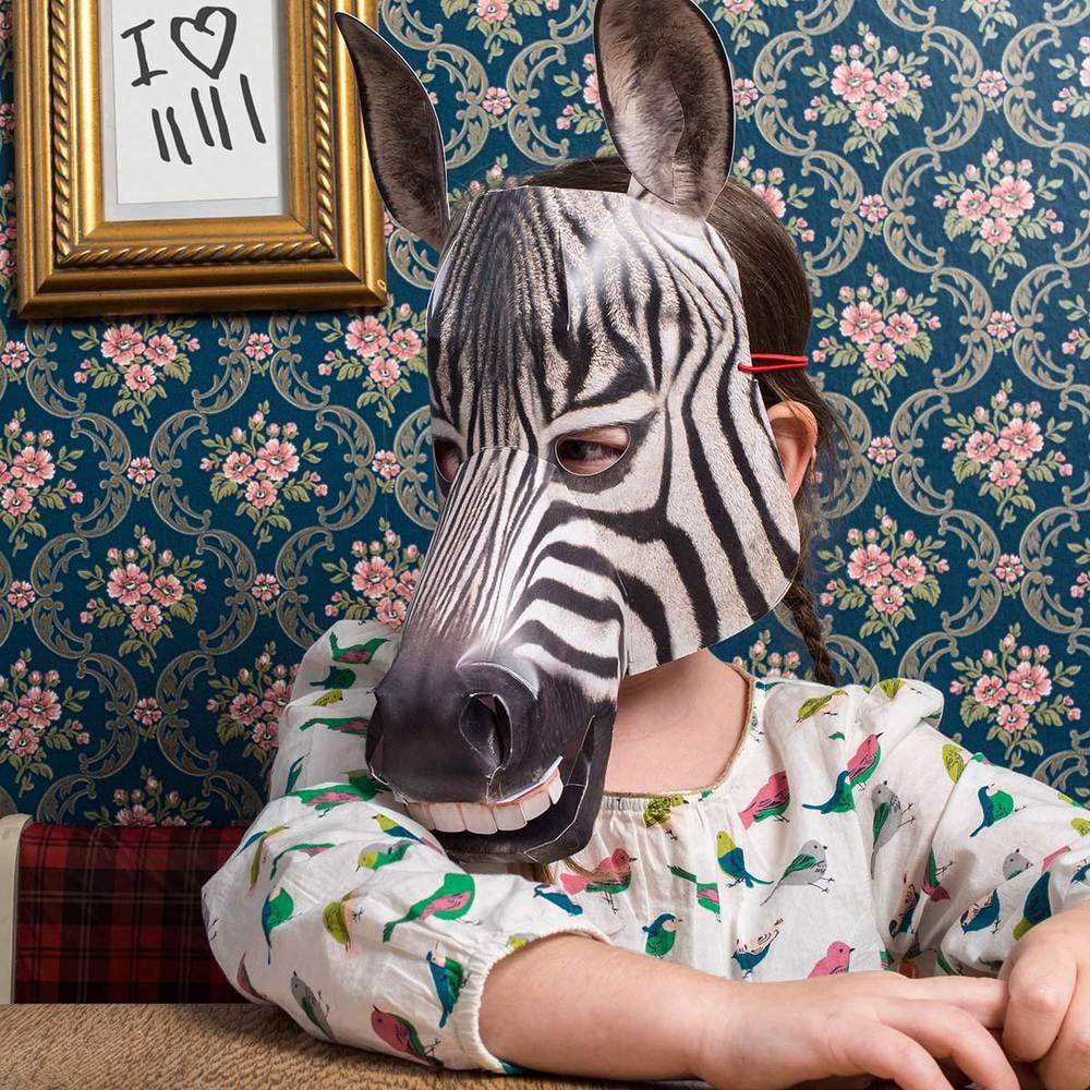 Zebra, verlegen (sonst eigentlich nie)