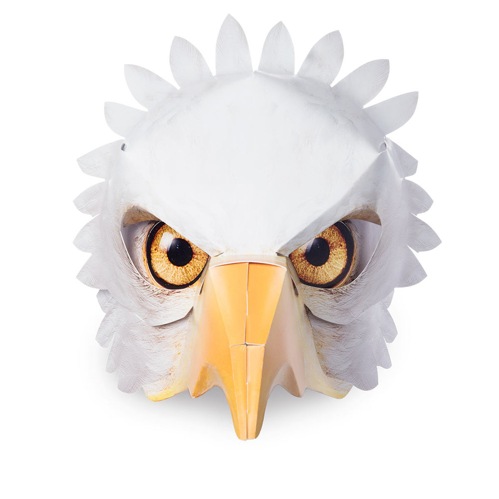 ....Maske Seeadler ..Bald eagle mask....