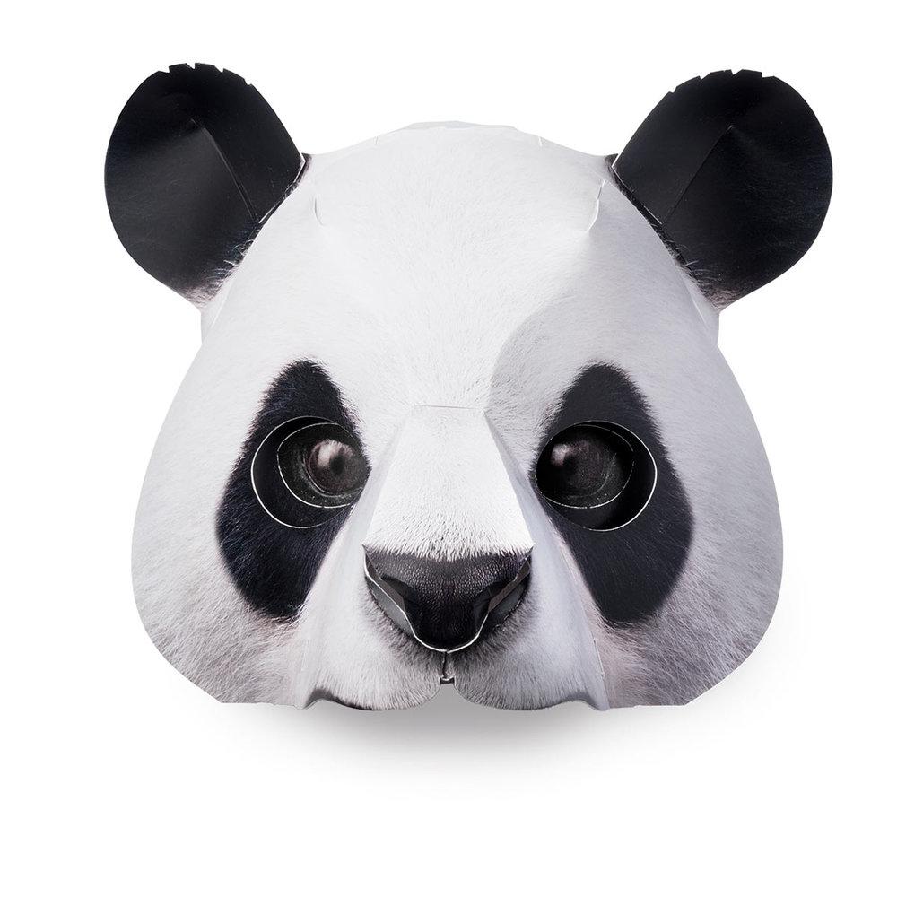 .... Maske Panda ..Panda mask....