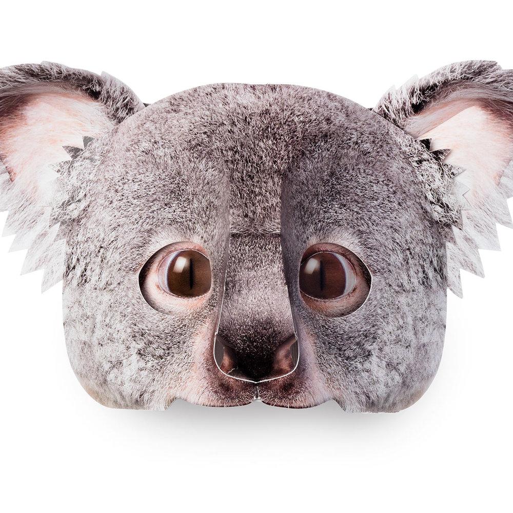 ....Maske Koala ..Koala mask