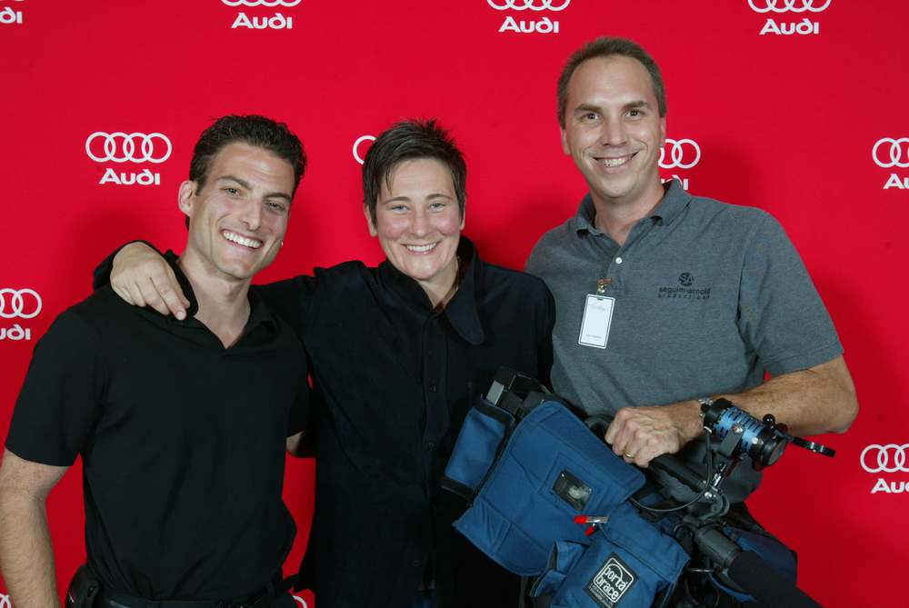Backtage with KD Lang