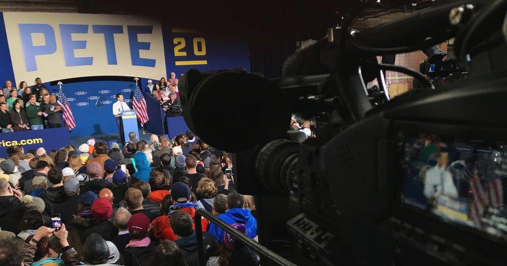 Pete Buttigieg makes his announcement to run for President - NBC Nightly News & MSNBC - South Bend