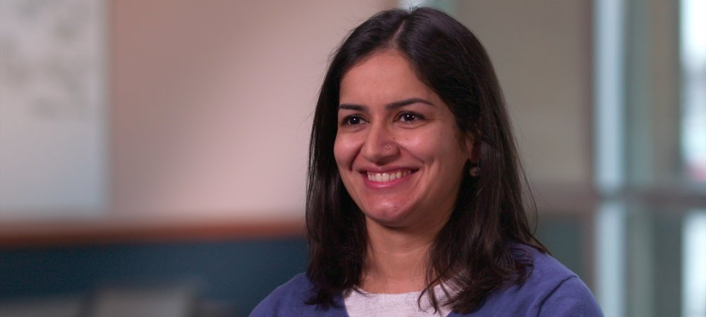 We interviewed several employees for a internal marketing video for the Ketchum agency.