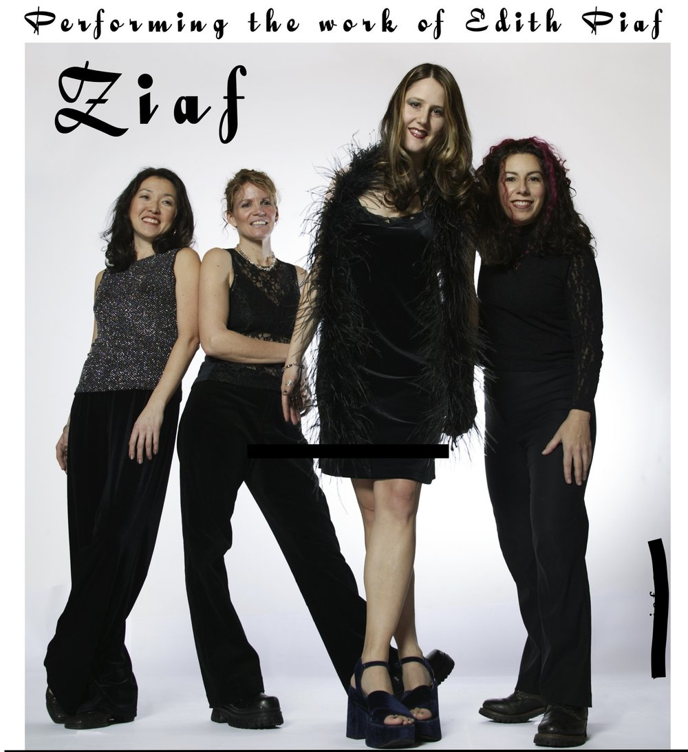 ZIAF! - promo shot by Michal Langone, 2004