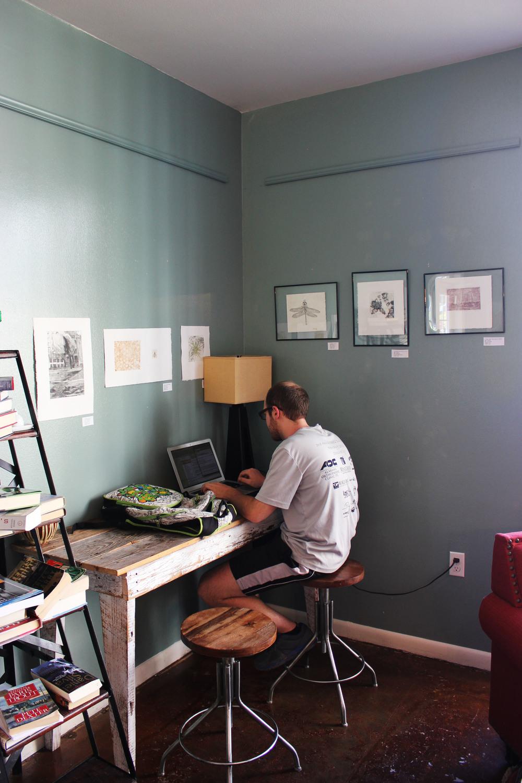 Study Nook at Rhino Coffee