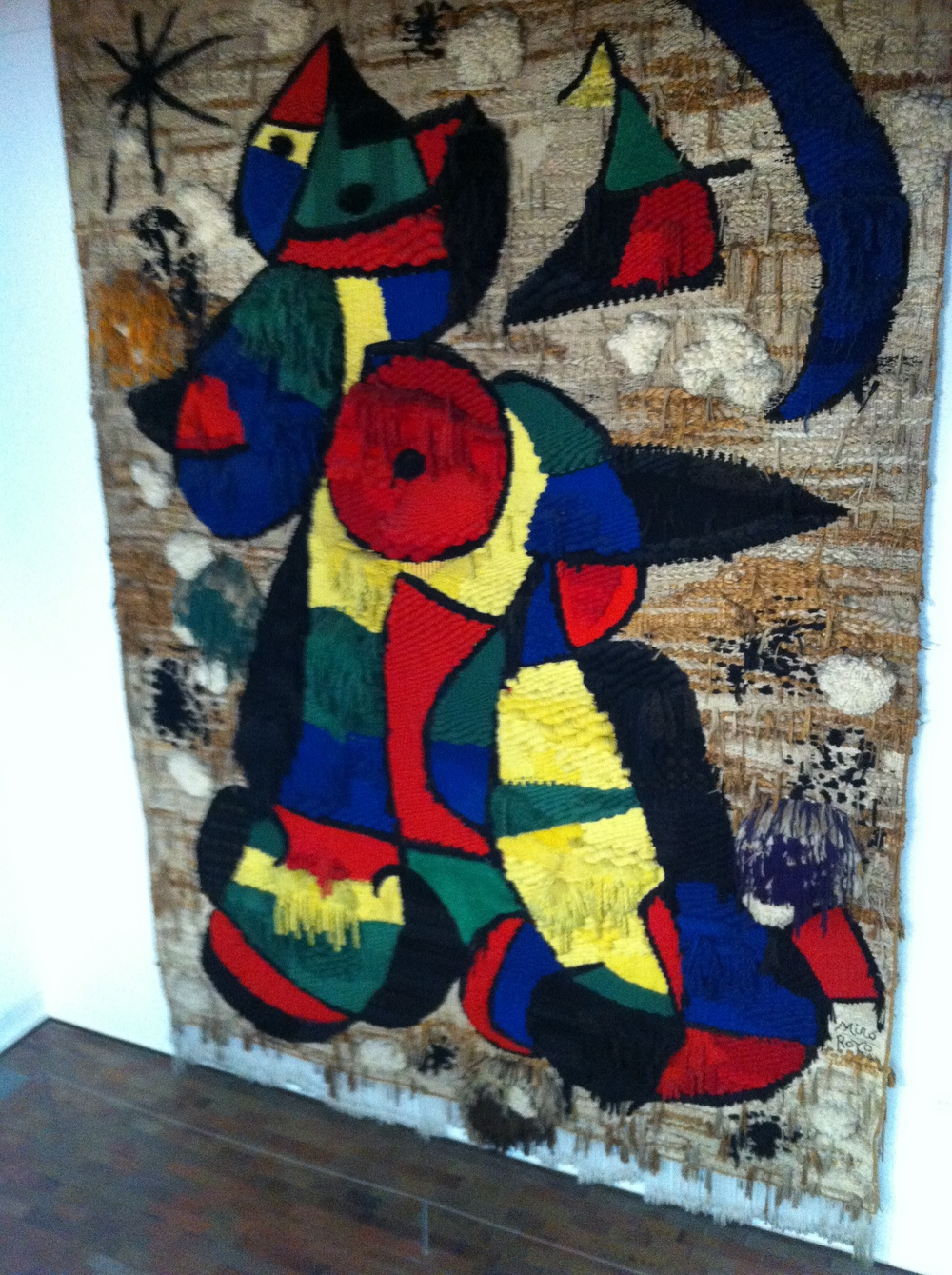 Miró Tapestry