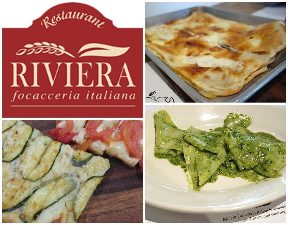 Riviera Focacceria Italian food Miami