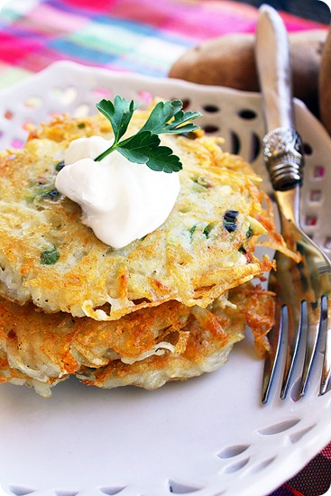 Potato Latkes from Miami Chef Michelle Bernstein