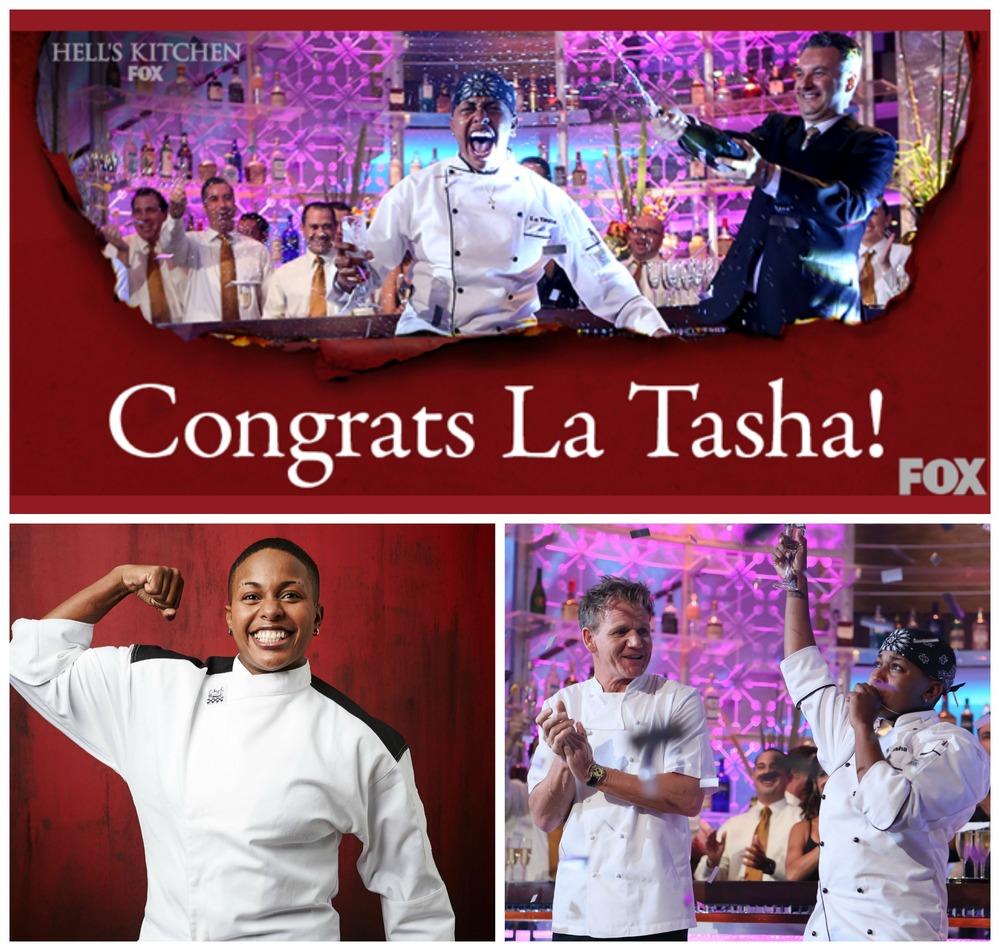 Hell's Kitchen Season 13 Winner Is La Tasha McCutchen From