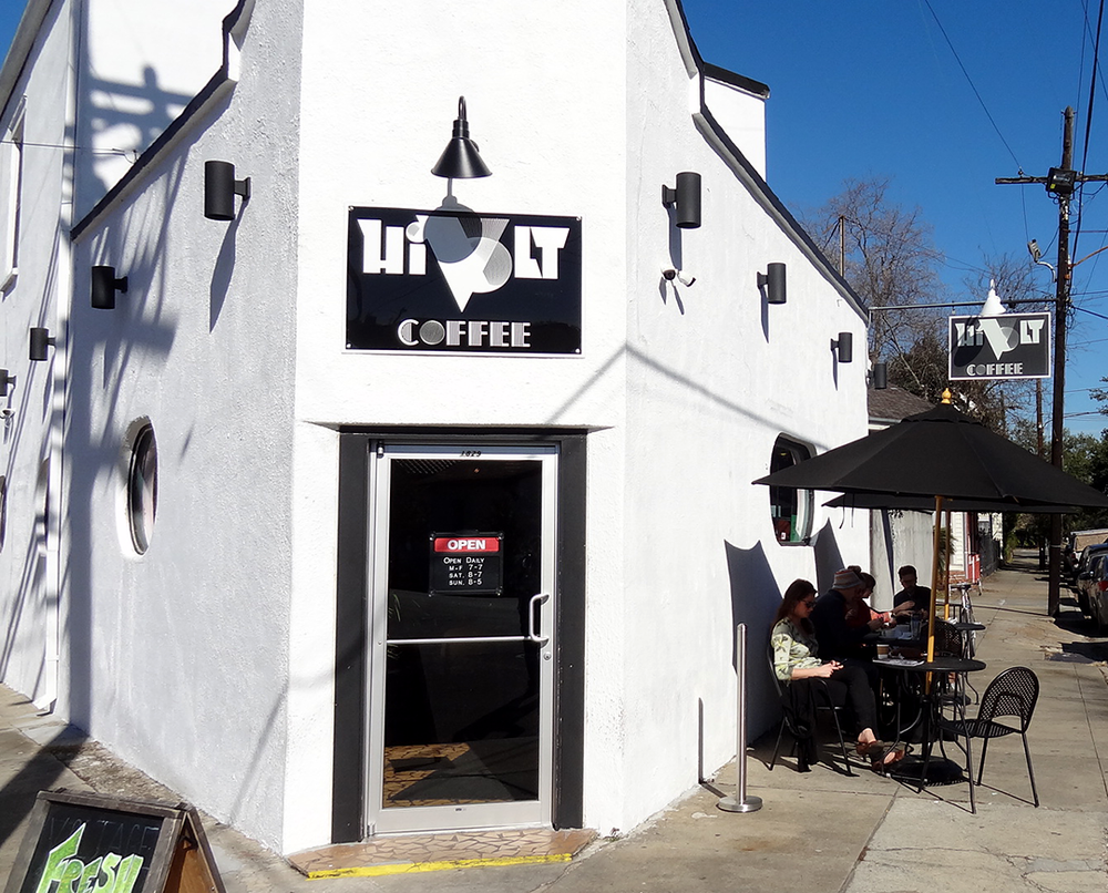 HiVolt Coffee is keeping them buzzing on Magazine Street in the Lower Garden District.