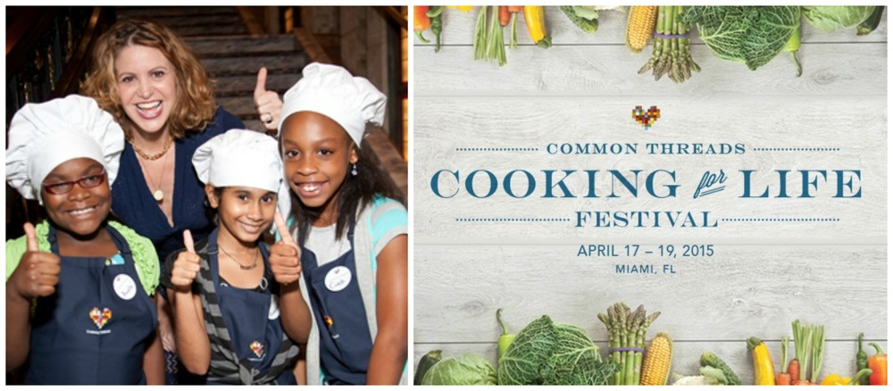 "Chef Michelle Bernstein and friends host ""Cooking for Life Festival"" April 17-19 2015"