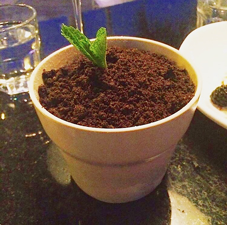 Dirt Cup, Eating House