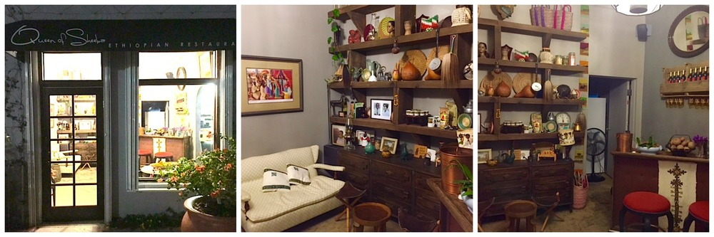 ... Very Welcoming With Lots Of Authentic Ethiopian Décor Like Carved  Plates, Urns, Embroidered Pillows And Colorful Art. An Outdoor Seating Area  In A Gated ...