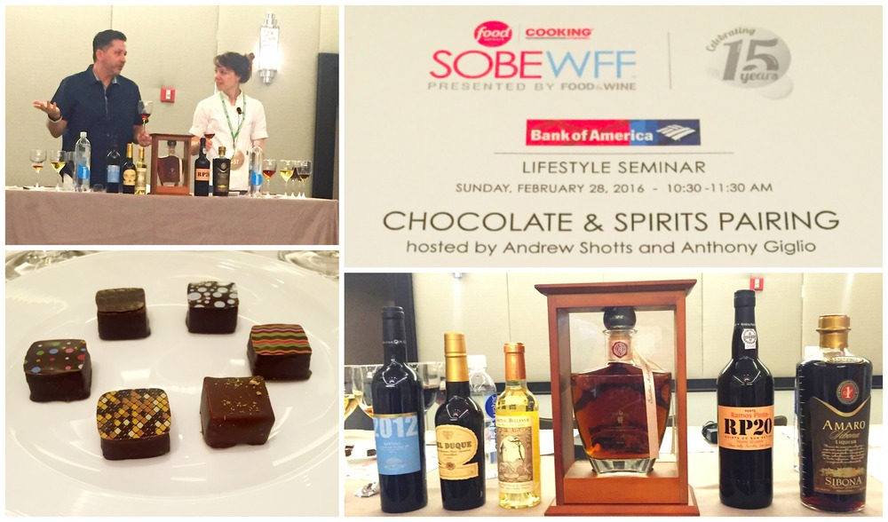SOBEWFF Sweets and Spirits Seminar
