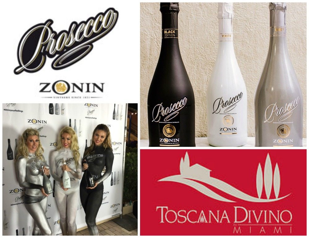 Zonin Prosecco at Toscano Divino Miami