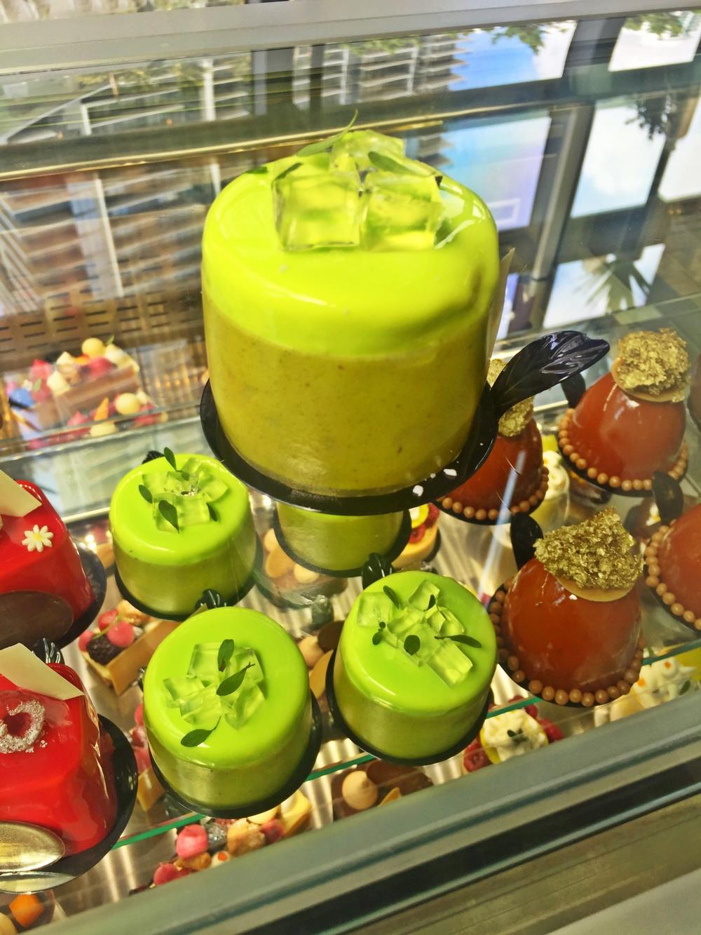 Antonio Bachour Bakery Bistro Mojito Mint Cake
