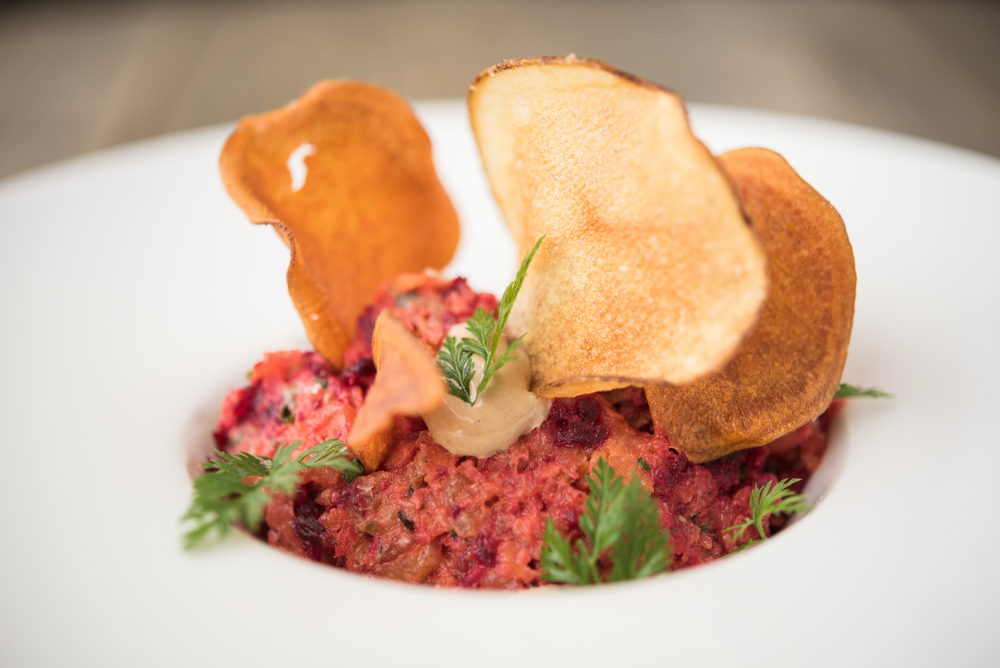 Sarsaparilla Miami Beach Carrot and Beet Tartare