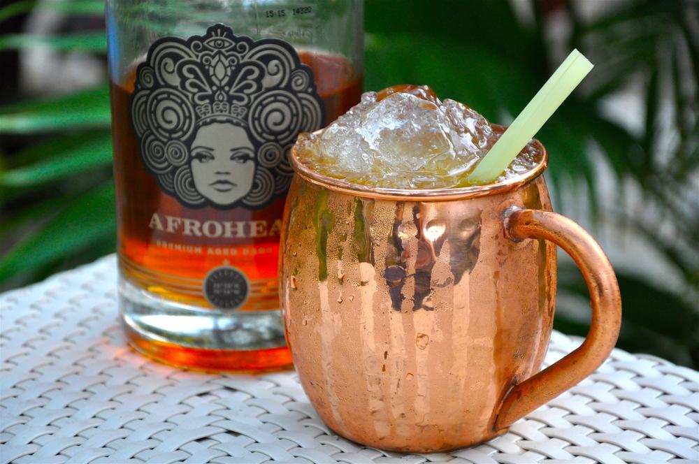 RePour Afrohead Rum Briland Buck Mule