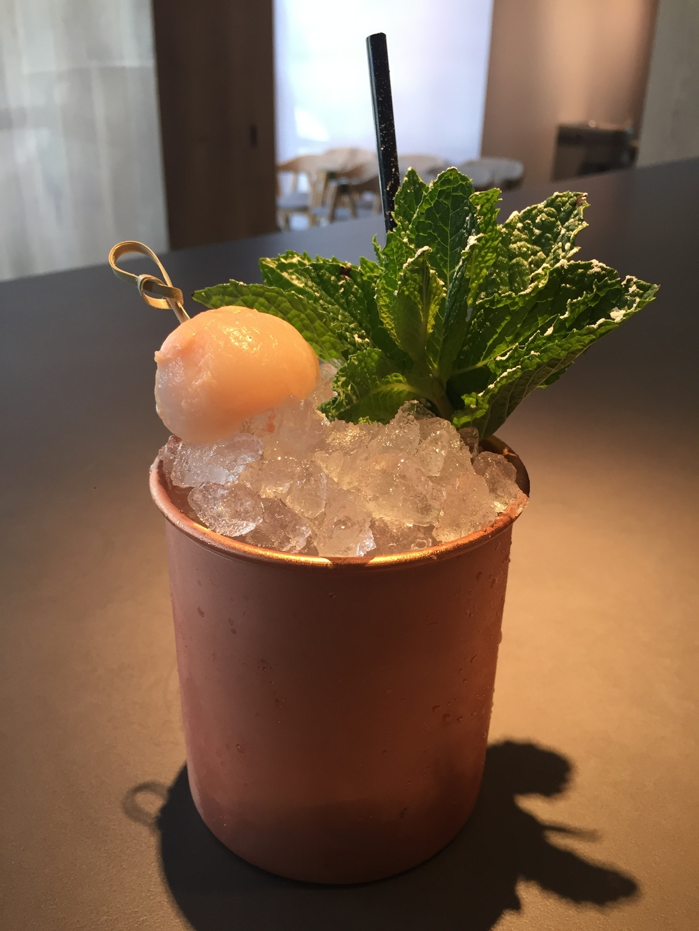 Moscow Mule Lychee Mule Miami