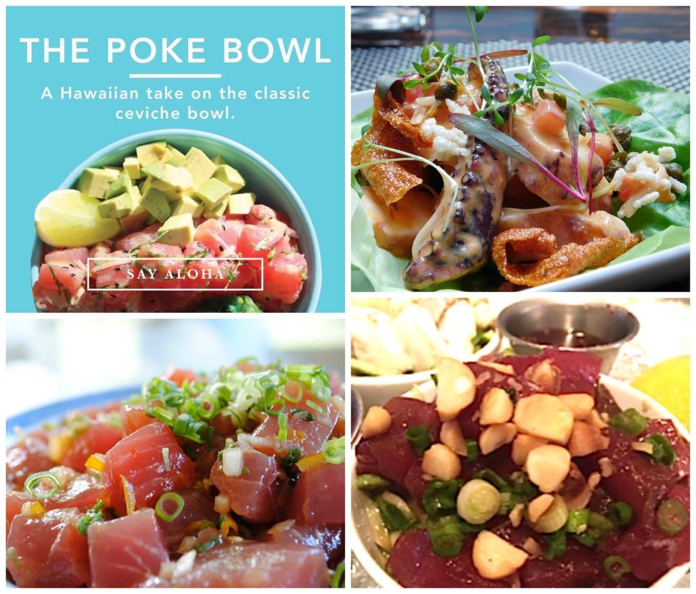 Hawaiian Poke in Miami Best Bowls